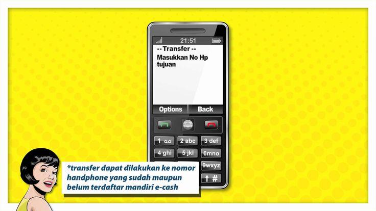 Tutorial Mandiri e-cash kirim uang dengan feature/basic phone. www.mandiriecash.co.id