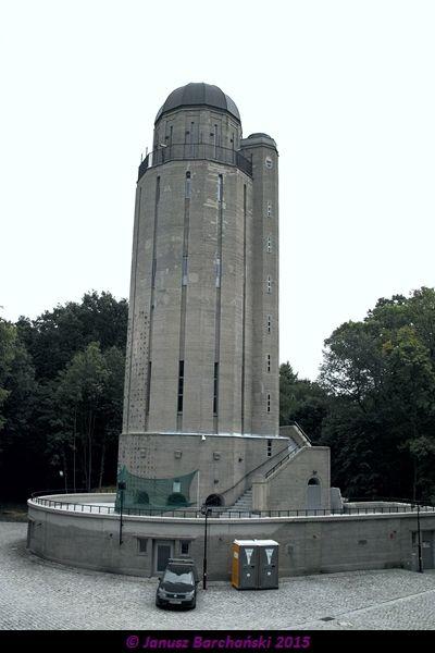 Nysa. Forteczna wieża ciśnień. 2015-08-02