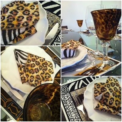 Mesa de oncinha 02: Tables, Of Leopard, Decoration, Table, Table