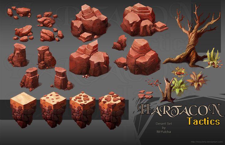 Hartacon Tactics Desert Set by MrYulcha