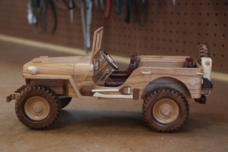WWII Military Jeep - by WoodScrap @ LumberJocks.com ~ woodworking community