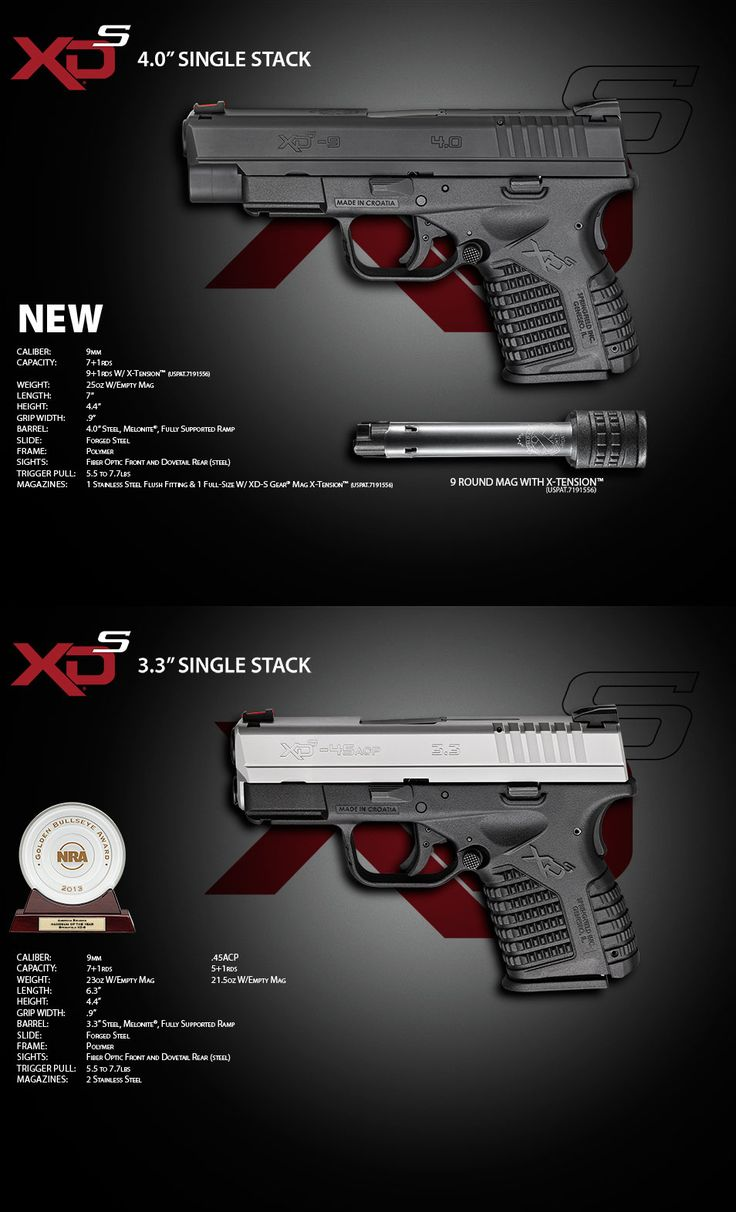 XDs .45 3.3 model. New concealed carry.