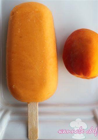 Sárgabarackos házi jégkrém mascarponéval   Wannabe Chef
