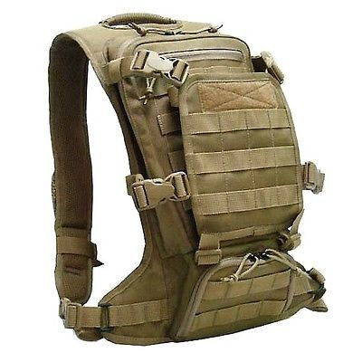 Devgru Navy Seal Tactical Molle Micro FAST Back Pack EDC Modular Coyote Brown