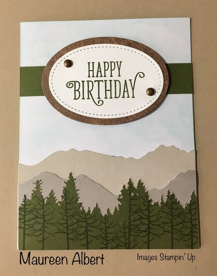 May 2018 Paper Pumpkin alternative card....