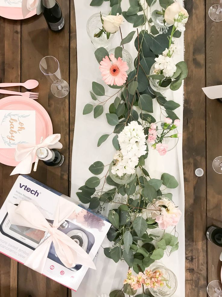 A Floral Brunch to Celebrate Our Sweet Baby Girl