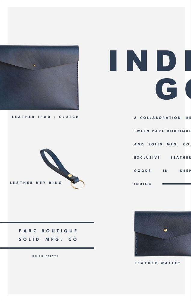 Leather Goods | Indigo