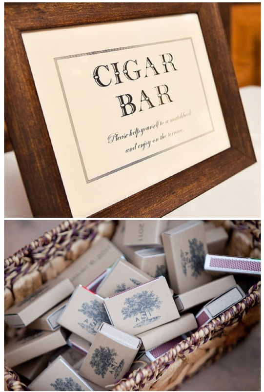 cigar bar...pinning because I know he'd love this
