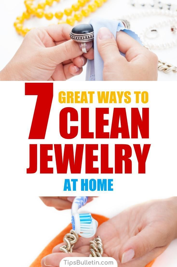 7 great ways to clean jewellery at home cleaning jewelry