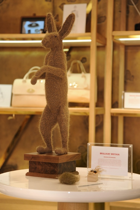 Mulberry and the UK government's 'Creativity is GREAT' - Brilliant Britain