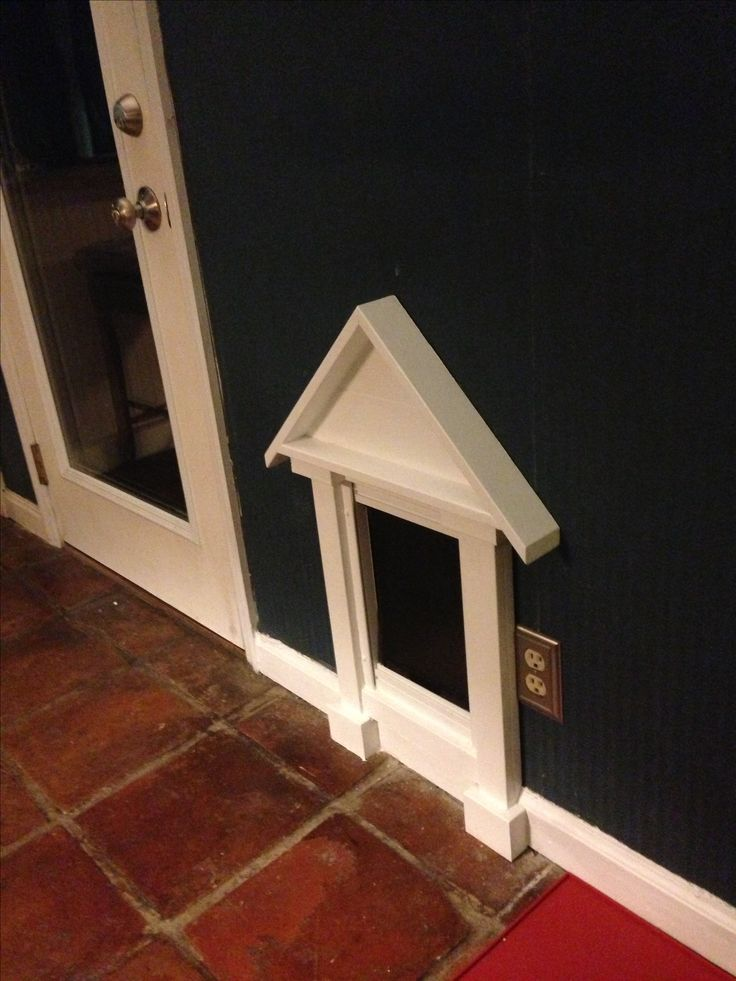 25 best ideas about pet door on pinterest dog rooms - Interior door with pet door installed ...