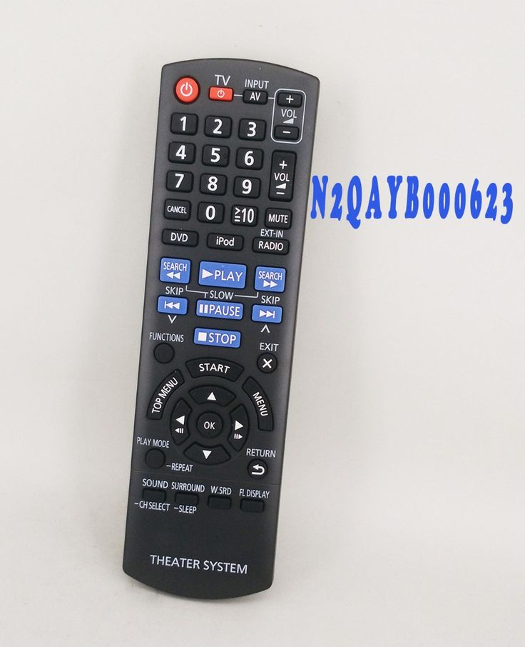 >> Click to Buy << New Remote control N2QAYB000623 For Panasonic TV DVD Theater System Remote #Affiliate