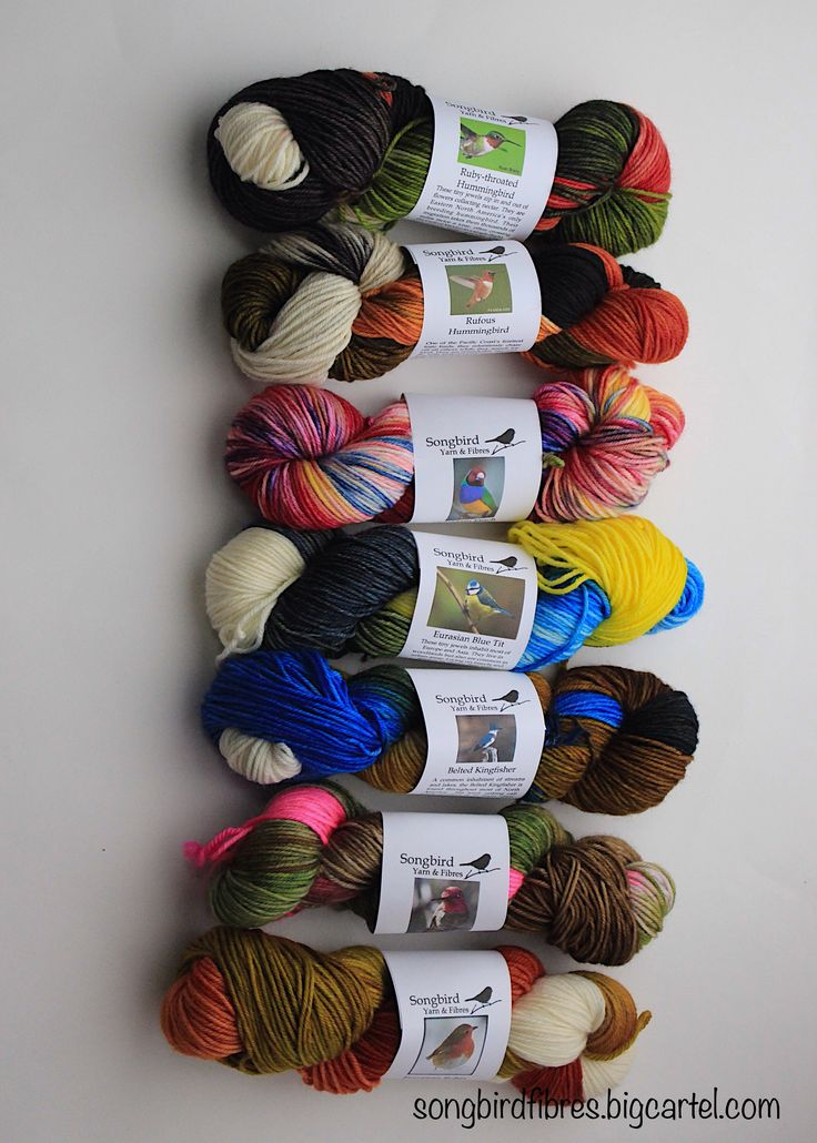 Worsted weight yarns for hats, mitts and other scrumptious, cushy knits!   Where Birds Meet Yarn!