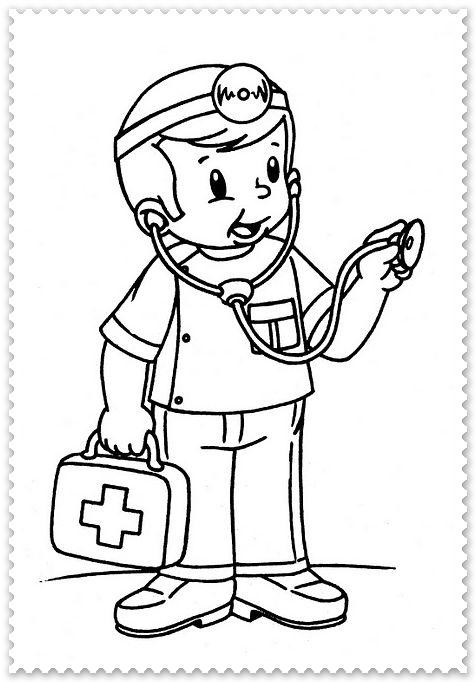 dokter knutselen thema ziek zijn peuter thema en