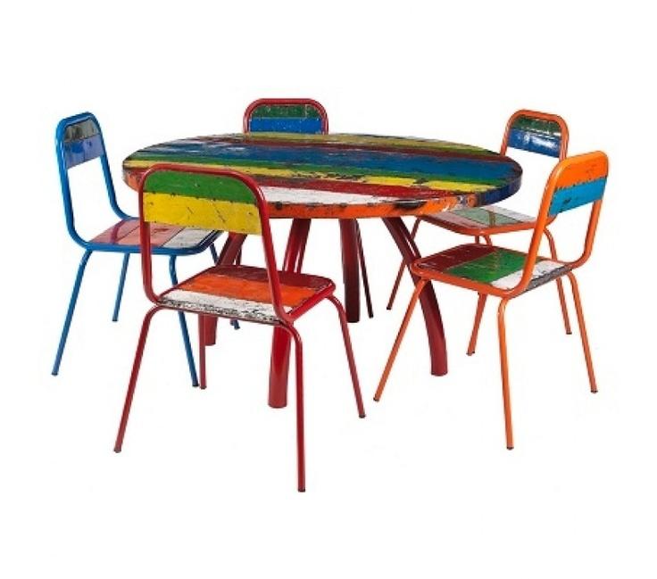 Kos Round Dining Set (6 Piece) http://stylishoutdoors.com.au/new-designs/kos-range/kos-diningset-round-6pieces