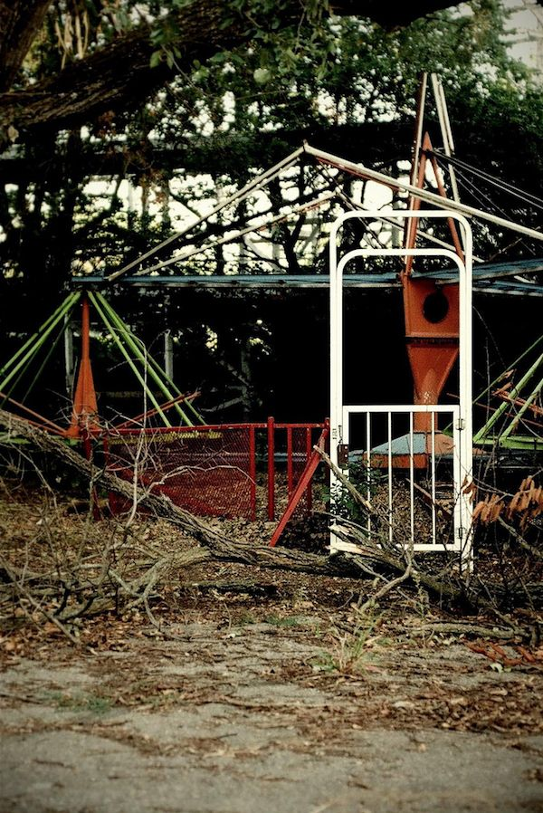 Abandoned Amusement Park- Joyland in Wichita KS