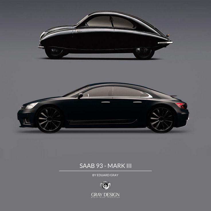 Saab 9-3 Mark III by Eduard Gray