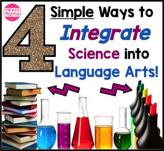 4 Simple Ways to Integrate Science into Language Arts! | Pinkadots Elementary | Bloglovin'