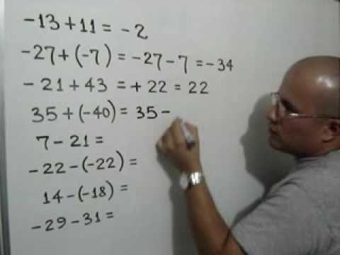 Este es un video que encontramos en interntes, que explica como se suma y se resta con numeros enteros.