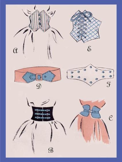 1940's style belts