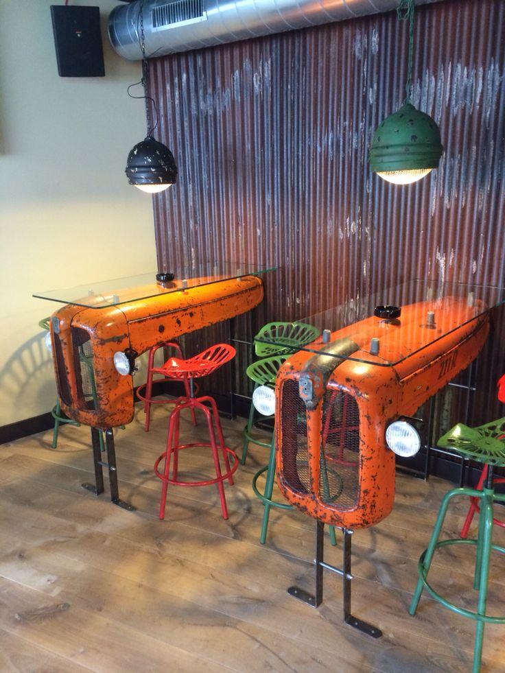 Tractor table Koffieshop Birdy Haarlem