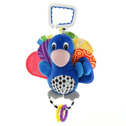Peacock Baby Einstein Crib Toy : Baby einstein world of colors peacock by kids ii