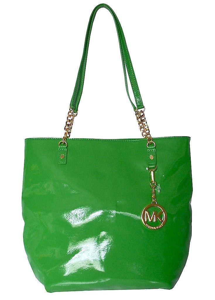 Bolso Michael Kors NS Chain Verde | $687,000.00