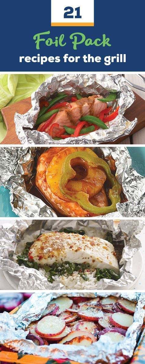 21 recipes for grill packs – for easy-to-clean dinner dishes, …   – Foil Pack Recipes