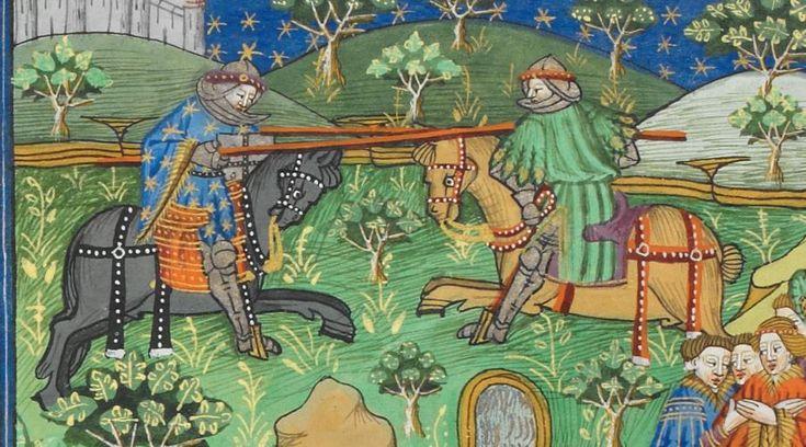 Poems and Romances (the 'Talbot Shrewsbury book') 1444-1445 Royal MS 15 E VI Folio 213v