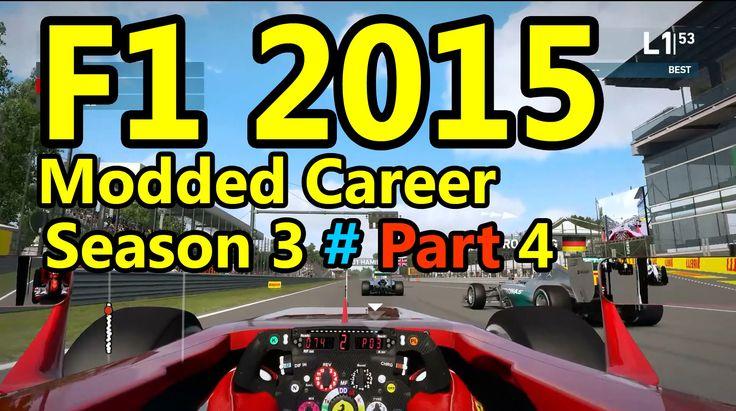 F1 2015 Gameplay Modded Career : 100% Race, Shanghai 1080p HD