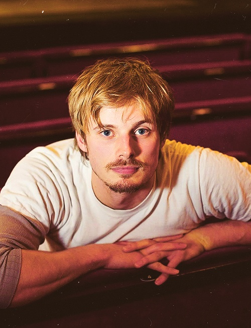 Bradley James mustache... yay or nay?