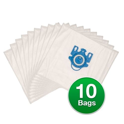 Replacement Type FJM Allergen Plastic Collar Vacuum Bags For Miele Polaris Galaxy Series S4212-2Pack