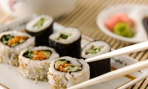 Groupon - Sushi and Japanese Food for Two or Four People at Osaka Sushi (47% Off)   in Osaka Sushi Japanese Restaurant. Groupon deal price: $16