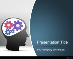 creative thinking powerpoint template is a free powerpoint template design for creativity and creative ideas in