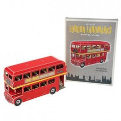 Double Decker Bus Landmark Craft Kit | Paper Products Online