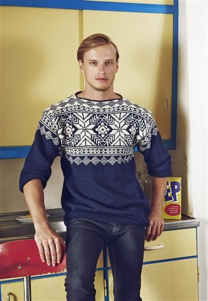 #knit #farisle vintage look