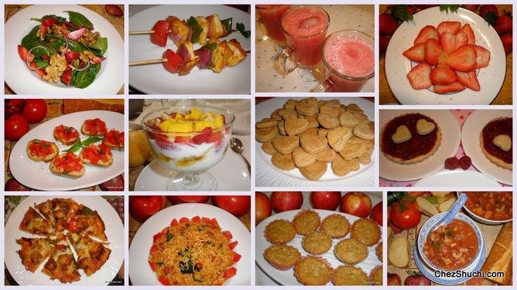 Wonderful recipes for Valentine's Day!!
