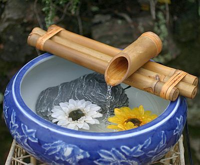 Even a simple bowl of water like this one would really create great energy placed in your entry or office -- areas where energy is constantly shifting. Receive FREE weekly feng shui and tea tips and guided meditations at http://www.SipandOm.com.
