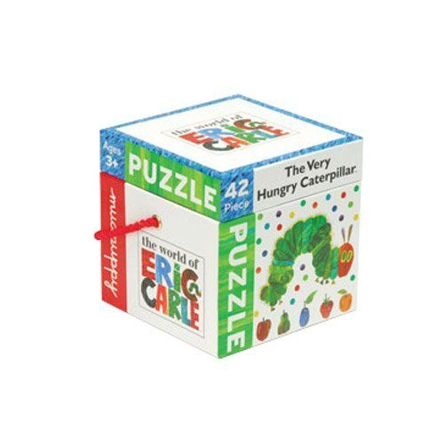 """The Very Hungry Caterpillar Puzzle by ConstructivePlaythings. $14.99. 16"""" x 16"""" puzzle of the classic story. 42 pcs. Ages 3 yrs. +."""