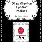 Add some color and creativity to your classroom by downloading GREY CHEVRON ALPHABET POSTERS! These would make a great addition to any classroom.  ...