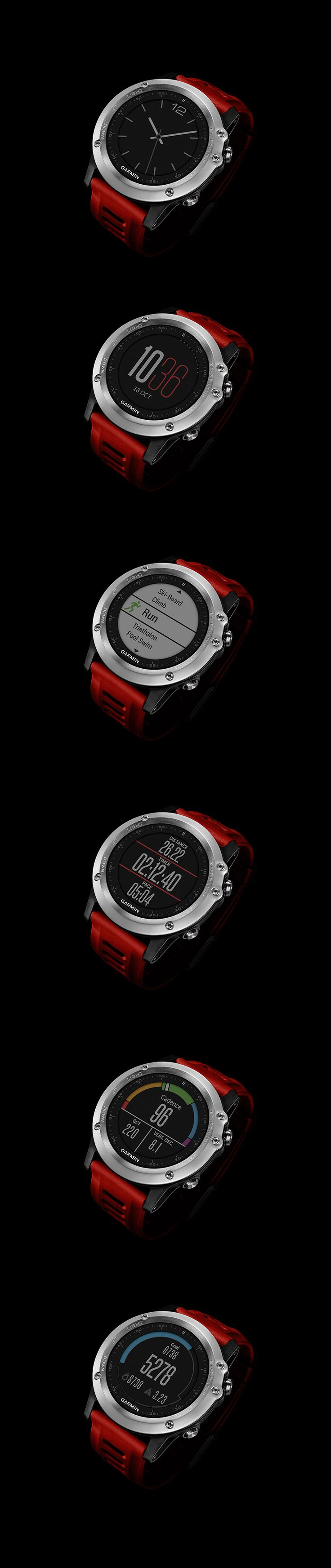 World's first adventure sport training Garmin GPS/GLONASS watch. #Fenix3 fenix3.garmin.com/en-US