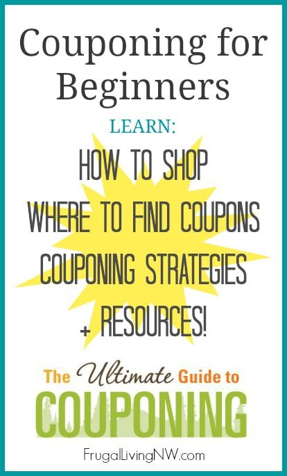 How to coupon! That's a DIY project that will save you loads of money.