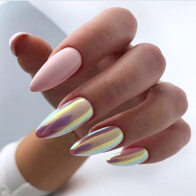 New Trends In Nail Design In Summer 2020 2021 Page 45 Of 83 Inspiration Diary In 2020 Bridal Nails Designs Nail Designs Cool Nail Designs