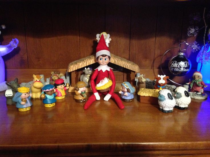 Day 14-Bernard wants to remind us that Christmas isn't just about Santa and presents.