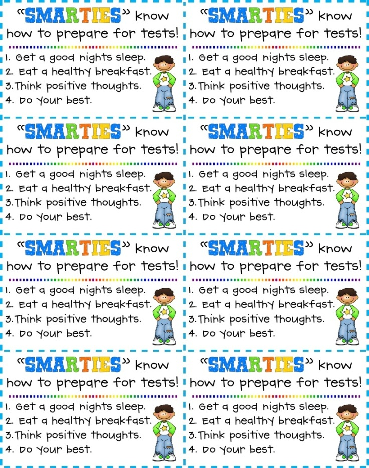 93 best Awards/Tickets/Happy notes images on Pinterest ... Smarties Test