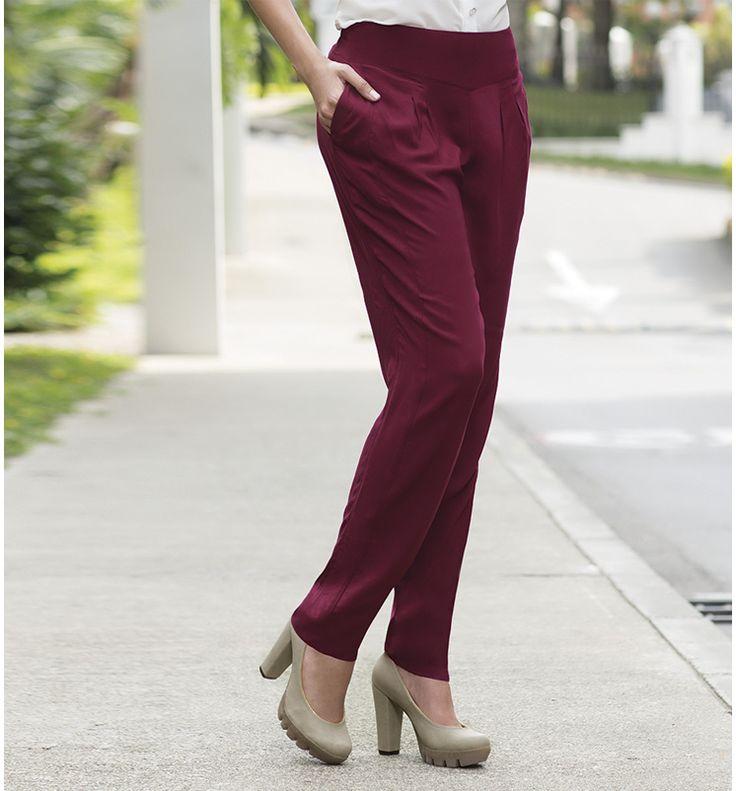 Pantalones holgados #jeansTyT, le darán un toque actual a tu look tanto en el trabajo como para el fin de semana.