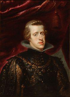 Rei D. Filipe III de Espanha e Portugal (1578-1621) Pintor: Pedro Pablo Rubens. Editorial: Real Lidador Portugal Autor: Rui Miguel