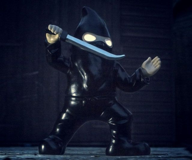 Gardenzilla taking out all of your lawn ornaments? Sounds like a job for [cue music] Ninja Gnome!