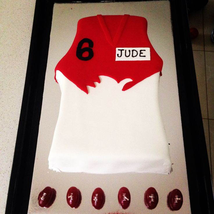 Ac Cake Decorating Hornsby Nsw : 9 best AFL . . . Sydney Swans Football Club Cakes And ...
