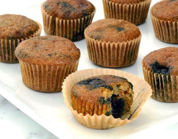 Healthy Blueberry Muffins Recipe | Elana's Pantry